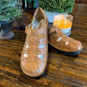 Alegria Pesca Shoes Comfort Fisherman 38 Sandals